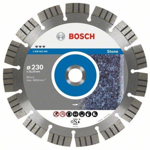 Diamantový dělicí kotouč Best for Stone 180 x 22,23 x 2,4 x 12 mm Bosch 2608602644