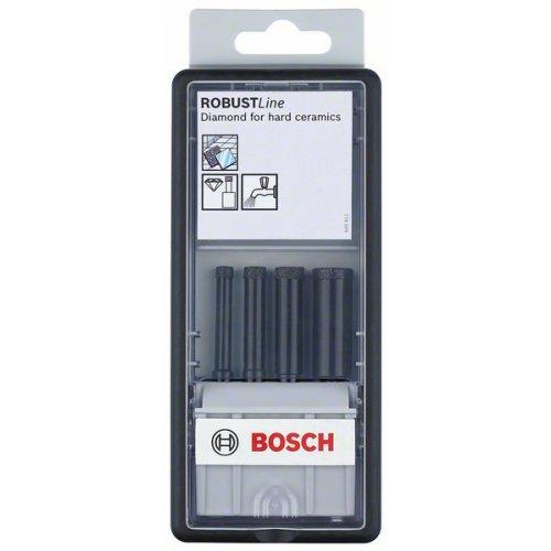 4dílná sada diamantových vrtáků pro vrtání za mokra Robust Line 6; 8; 10; 14 mm Bosch 2607019880