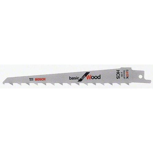 Pilový plátek do pily ocasky S 617 K Basic for Wood Bosch