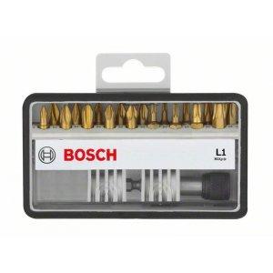 18+1dílné sady šroubovacích bitů Robust Line, L Max Grip 25 mm Bosch