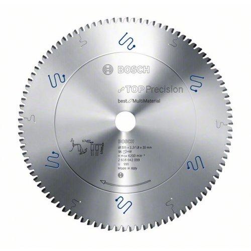 Pilový kotouč do okružních pil Top Precision Best for Multi Material 216 x 30 x 2,3 mm, 64 Bosch