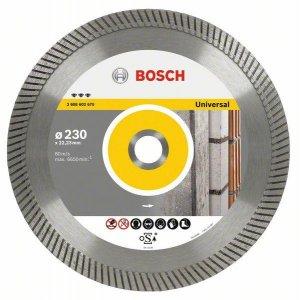 Diamantové dělicí kotouče Best for Universal Turbo Bosch