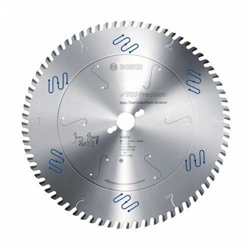 Pilový kotouč do okružních pil Top Precision Best for Laminated Panel Abrasive 303 x 30 x 3,2 mm, 60 Bosch