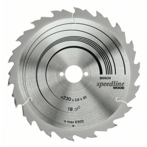 Pilový kotouč Standard for Wood Speed 210 x 30 x 2,6 mm, 30 Bosch