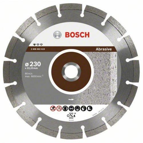 Diamantový dělicí kotouč Standard for Abrasive 115 x 22,23 x 6 x 7 mm Bosch 2608602615
