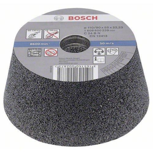 Brusný hrnec, kónický - kámen/beton 90 mm, 110 mm, 55 mm, 24 Bosch 1608600239