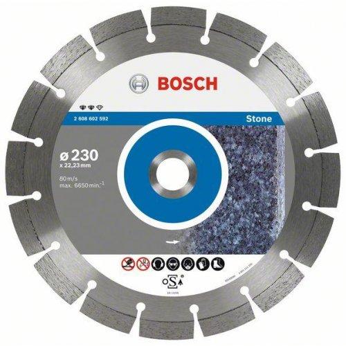 Diamantový dělicí kotouč Expert for Stone 230 x 22,23 x 2,4 x 12 mm Bosch 2608602592