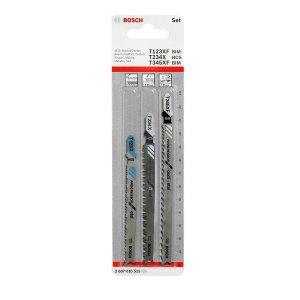 Sada pilových plátků do kmitacích pil, 3dílná T 101 BIF; T 101 AOF Bosch