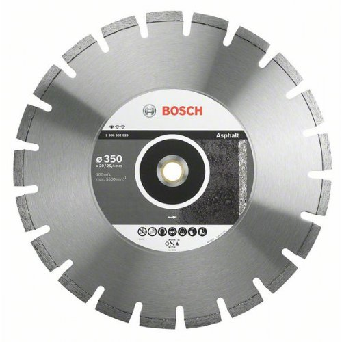 Diamantový dělicí kotouč Standard for Asphalt 300 x 20/25,4 x 2,8 x 10 mm Bosch 2608602624