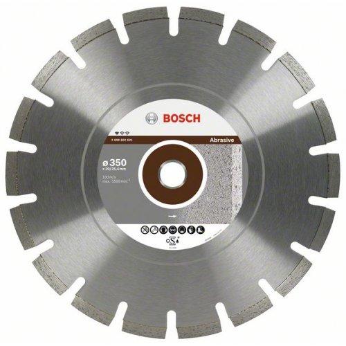 Diamantový dělicí kotouč Standard for Abrasive 450 x 25,4 x 3,6 x 10 mm Bosch 2608602623