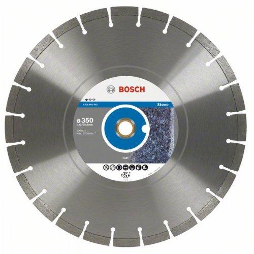 Diamantový dělicí kotouč Standard for Stone 400 x 20/25,4 x 3,2 x 10 mm Bosch 2608602604
