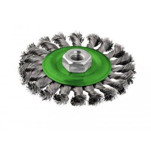 Kotoučový kartáč, nerezový 115 mm, 0,5 mm, 12500 U/ min, 14 Bosch