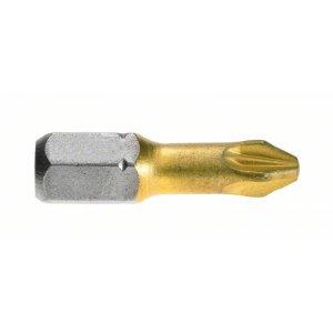 Šroubovací bity Max Grip pro šrouby s křížovou drážkou Pozidriv. Bosch