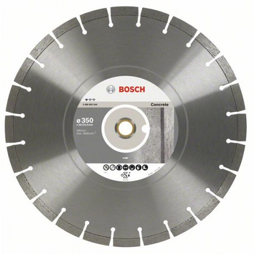 Diamantový dělicí kotouč Standard for Concrete 300 x 20/25,4 x 2,8 x 10 mm Bosch 2608602543