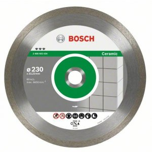 Diamantový dělicí kotouč Best for Ceramic 180 x 22,23 x 2,2 x 10 mm Bosch 2608602633