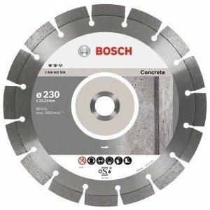 Diamantový dělicí kotouč Expert for Concrete 125 x 22,23 x 2,2 x 12 mm Bosch 2608602556