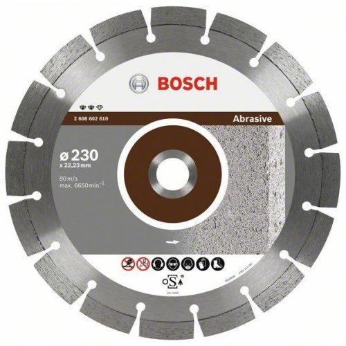 Diamantový dělicí kotouč Expert for Abrasive 150 x 22,23 x 2,4 x 12 mm Bosch 2608602608