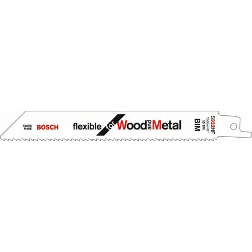 Pilový plátek do pily ocasky S 922 HF Flexible for Wood and Metal Bosch