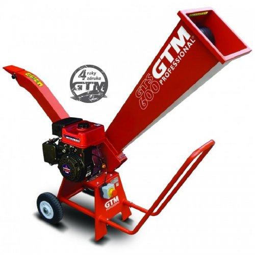 Benzínový drtič dřeva GTS 600