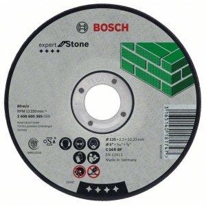 Dělicí kotouč lomený na kámen Expert for Stone C 24 R BF, 125 mm, 22,23 mm, 2,5 mm Bosch 2608600222