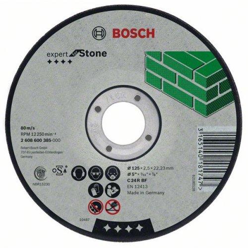 Dělicí kotouč lomený na kámen Expert for Stone C 24 R BF, 115 mm, 22,23 mm, 2,5 mm Bosch 2608600004