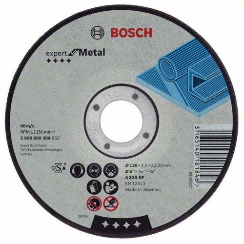 Řezný kotouč rovný na kov Expert for Metal A 30 S BF, 180 mm, 22,23 mm, 3 mm Bosch 2608600321