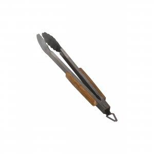 Grilovací kleště GrandHall s bambusovou rukojetí