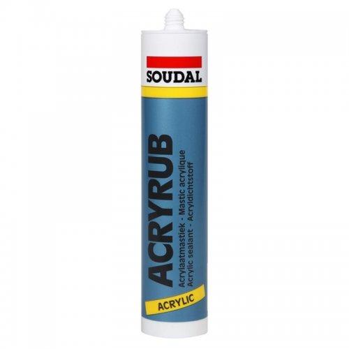Akrylový tmel 310ml Soudal ACRYRUB