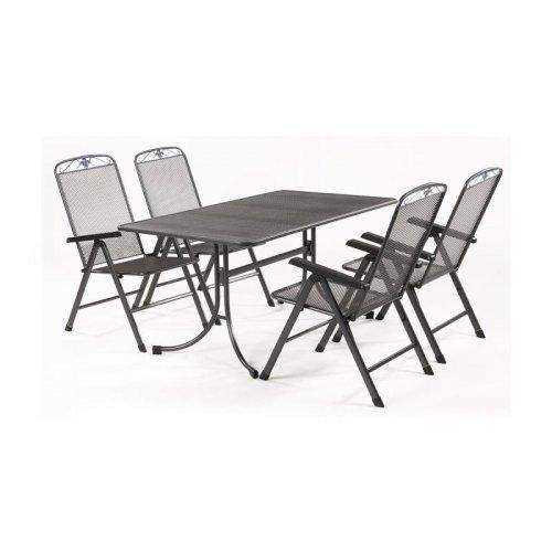 Sestava jídelního nábytku z tahokovu Basanis 4+