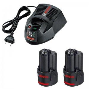 Sada akumulátorů Bosch GBA 12V 2x3,0Ah Li-Ion Professional + nabíječka GAL 1230 CV 1600A00X7E