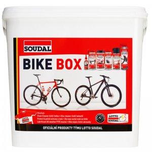 Sada na čištění a údržbu bicyklu Soudal BIKE BOX