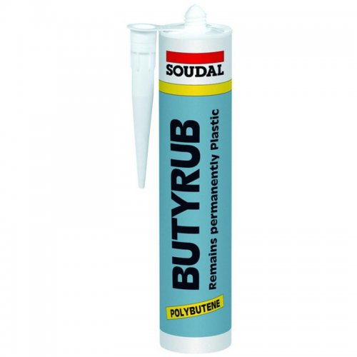 Plastický tmel Butyrub 600 ml