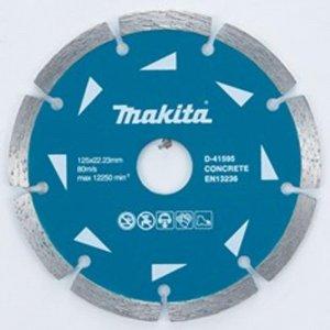 Segmentový diamantový kotouč 125x22,23mm Makita D-41595-10