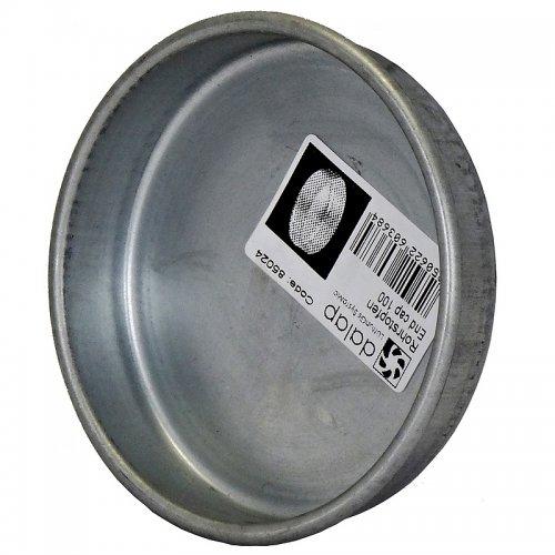 Záslepka z pozinkované oceli k ukončení vzduchovodů, 355 mm, vhodná do 100 °C DALAP END CAP 355