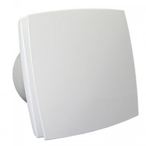 Axiální ventilátor s bílým krytem DALAP 150 BF 12