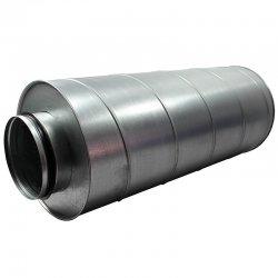 Tlumič hluku z pozinkovaného plechu, 125 mm, délka 90 cm DALAP DAMPER 125/900