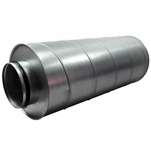 Tlumič hluku z pozinkovaného plechu, 160 mm, délka 60 cm DALAP DAMPER 160/600