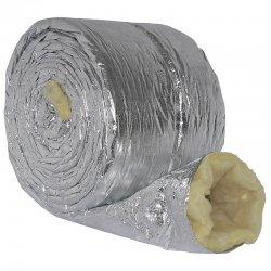 Izolační návlek hliník - minerální vlna (25 mm) pro, 315 mm / 10 m DALAP TIN 315/10