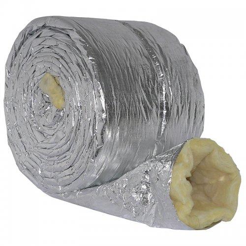 Izolační návlek hliník - minerální vlna (25 mm) pro, 250 mm / 5 m DALAP TIN 250/05
