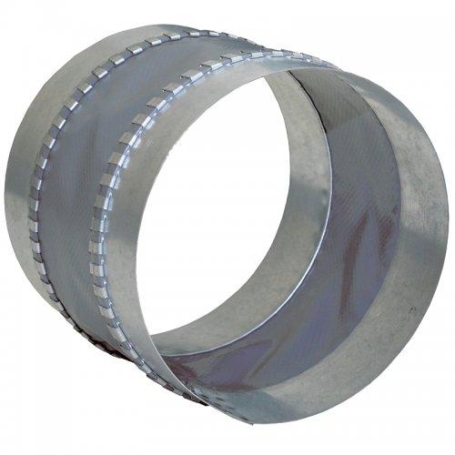 Vnitřní pružná spojka/tlumič z pozinkované oceli a vyztužené nylonové textilie, 450 mm DALAP FCG 450