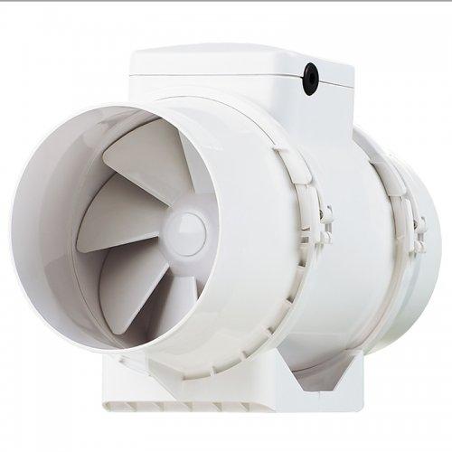 Výkonný plastový potrubní ventilátor 158mm DALAP AP 160 Z