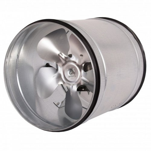 Kovový axiální potrubní ventilátor, 200mm DALAP VPI 200