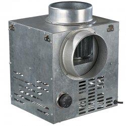 Krbový ventilátor s regulovatelným termostatem, 124mm DALAP FN 125