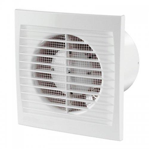 Tichý ventilátor s tenkým předním krytem DALAP 125 PT ECO