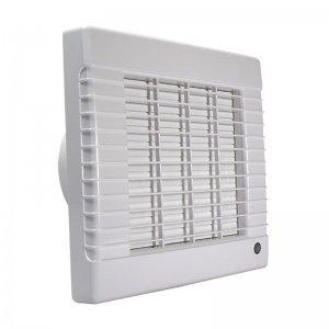 Ventilátor s automatickou žaluzií a nízkou hlučností DALAP 100 LVZ ECO