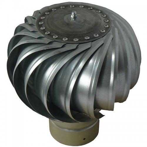 Rotační komínová hlavice z pozinkovaného plechu, Ø 315 mm DALAP DORN 315