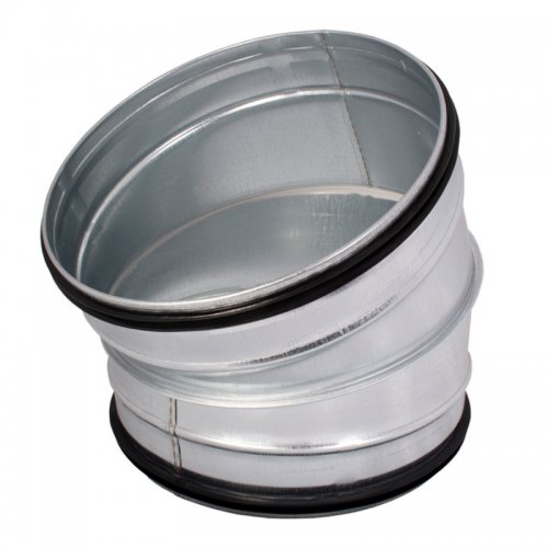 Koleno pozinkované 30°, průměr 100 mm DALAP Dalap BEND-O 30/100 - Koleno