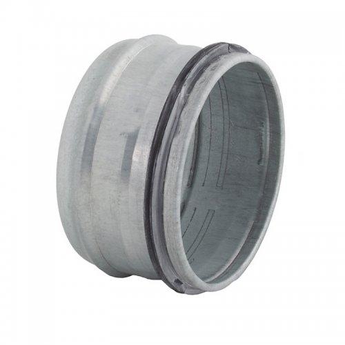 Záslepka z pozinkované oceli k ukončení vzduchovodů, 250 mm, vhodná do 100 °C DALAP END CAP-O 250