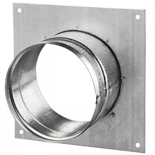 Příruba z pozinkované o oceli, 250 mm s rámečkem  DALAP DFK 250