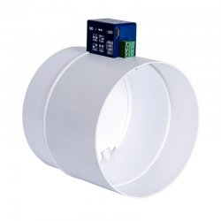PVC elektrická škrtící klapka Ø 125 mm DALAP Dalap SK1 125 mm